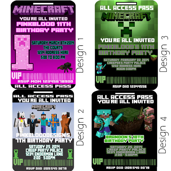 Vip Access Pass Minecraft Vip Access Pass